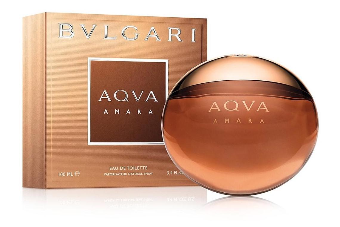 BVLGARI AQUA AMARA  -  Горькая вода ! Известный итальянский бренд Bvlgari продолжает свою коллекцию ароматов Bvlgari Aqua парфюмерным творением Bvlgari Aqua Amara. Туалетная вода имеет свежую композицию, которая включает в себя тонизирующую бодрость цитрусовых, легкие оттенки мягких специй и великолепный аккорд древесных нот в окружении ладана.
