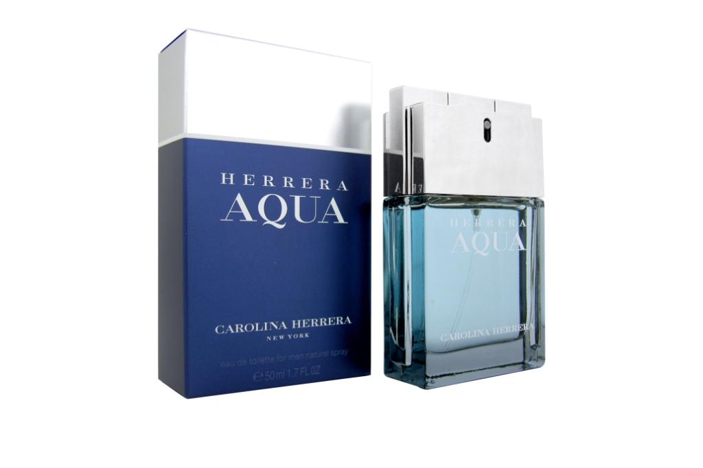 Carolina Herrera Herrera Aqua-излучает силу и  ум,  с уверенностью и благородством. Именно таких мужчинах женщины считают своими вторыми полвинками и находят в них спутника всей их жизни! Этот легкий и свежий парфюм дает Вам свободу!  Присущее чувство чистоты, свежести океана, которое возникнет у Вас при первом вдыхании этого аромата.