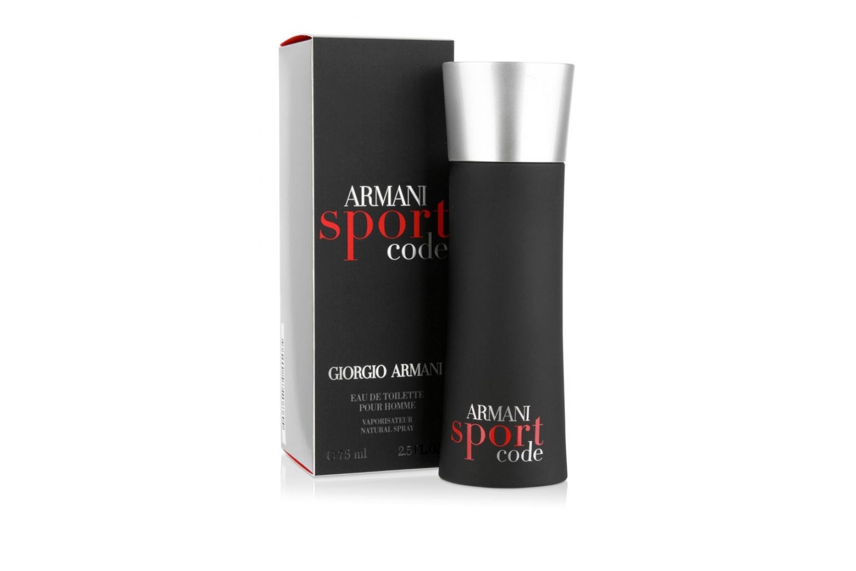 Armani Code Sport - сексуальный, смелый, респектабельный. Парфюм, который способен притягивать к себе множество восхищенных взоров. Начальные ноты композиции : лимон и сочный мандарин.