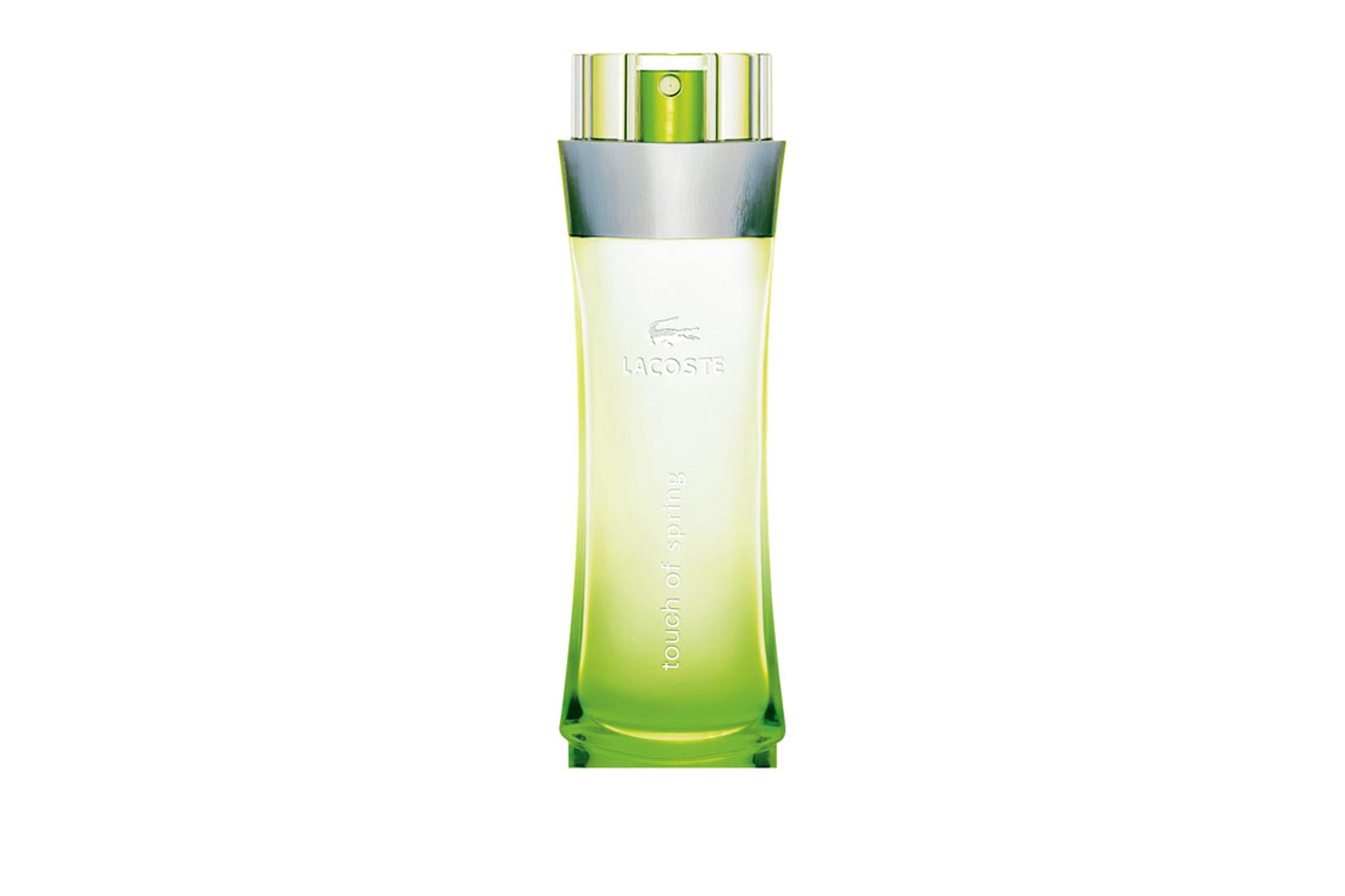 Lacoste Touch of Spring -погружает свою обладательницу в мир весны и распускающихся цветов. Энергия цвета и женственности в парфюме созданы для молодой, модной и энергичной женщины, он наполняет весенним настроением и пробуждает творческие порывы.