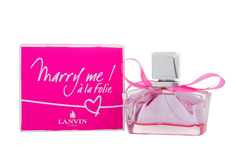 Lanvin Marry Me a la Folie-посвящен юности и передает ощущение сладостной невесомости и сердечного трепета, сопровождающего начало страстной любви! Это смелый и безумно элегантный аромат.
