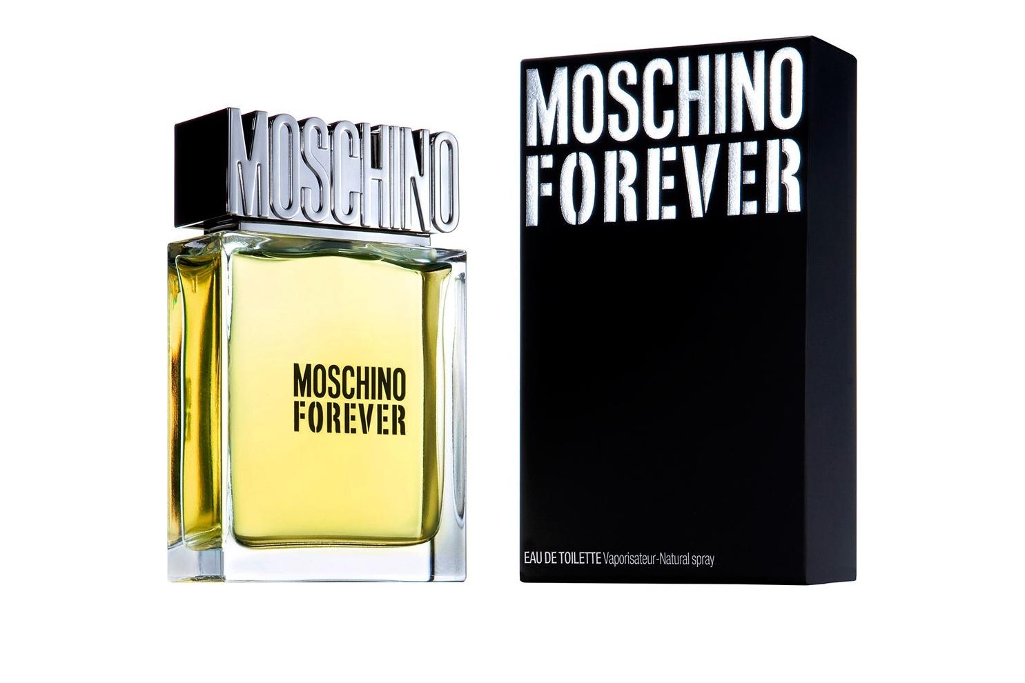 Moschino Moschino Forever- элегантный, классический и чуточку ироничный мужской аромат. Свежий и чувственный с удивительным и современным фужерным аккордом, раскрывается ярко и интенсивно!  Воплощение настоящей мужской дружбы!