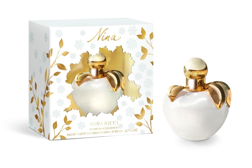 Аромат Nina Snow Princes – фруктово-цветочный аромат, созданный для юных дам. Аромат был создан в 2011 году Ниной Риччи. Флакон аромата выглядит в виде белоснежного яблока с золотым декором. Белоснежный цвет выражает знак элегантности.  Такой аромат подходит в зимнее время. Верхними нотами аромата являются: лайм и лимон. К нотам сердца относятся: карамель, конфеты пралине и красное яблоко. А к базовым нотам можно отнести: виргинский кедр, мускус, ваниль и дерево яблока.  Аромат Nina Snow Princes рождественский аромат с приятным запахом шоколада. Является прекрасным подарком в новогодние праздники для юных дам.