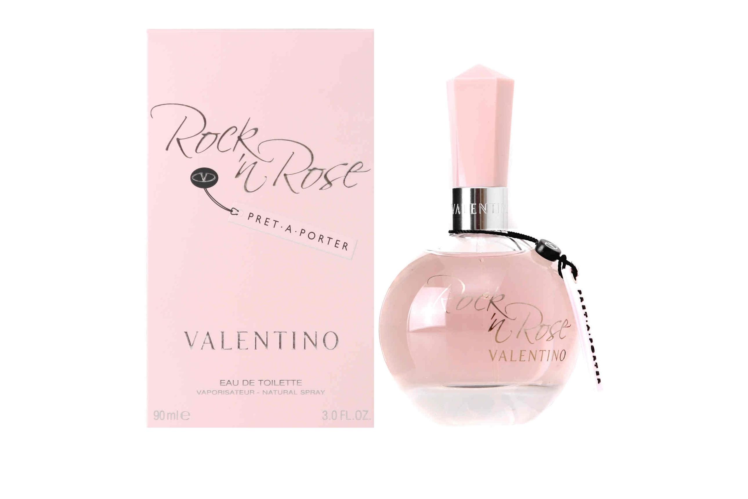Женский парфюм Rock`n Rose Pret-A-Porter от итальянского бренда Valentino выпущен в 2008 году ограниченной партией. Это интерпретация классического аромата. Группы принадлежности: цветочные, зеленые. Идеальное использование: теплое время года, день, активный отдых, деловые встречи, переговоры. Ингредиенты композиции Pret-A-Porter серии Rock`n Rose от Валентино: черная смородина, гардения, бергамот, роза из Непала, апельсиновый цвет, ландыш, ландыш, корень ириса, ландыш, гелиотроп и мягкая ваниль.  Источник: http://vash-aromat.ru/shop/3651/desc/zhenskaja-tualetnaja-voda-rock-n-rose-pret-a-porte-w-50ml-edt-ot-valentino-50-ml