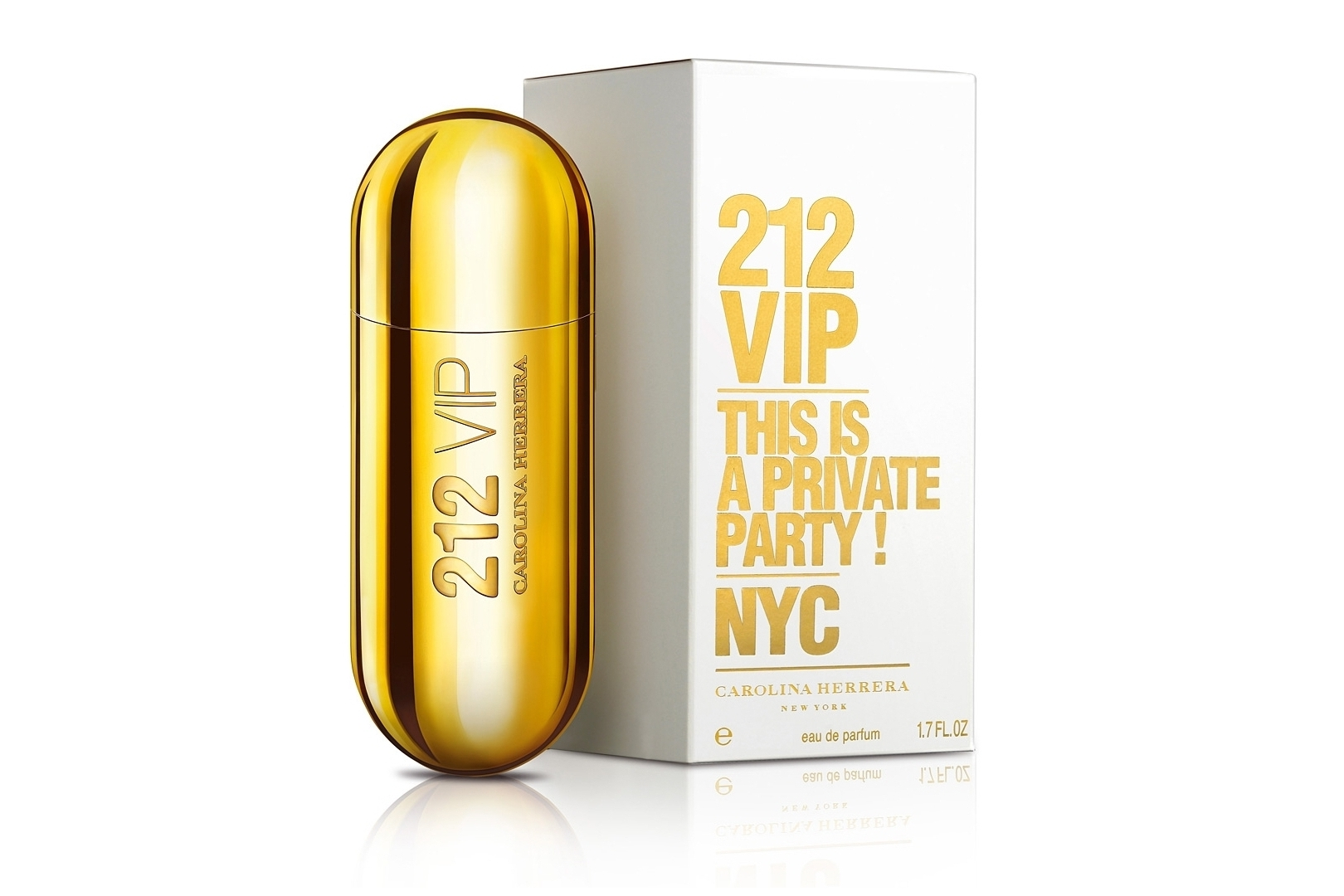 Carolina Herrera 212 VIP, launched in September 2010, is surrounded by slogans such as
