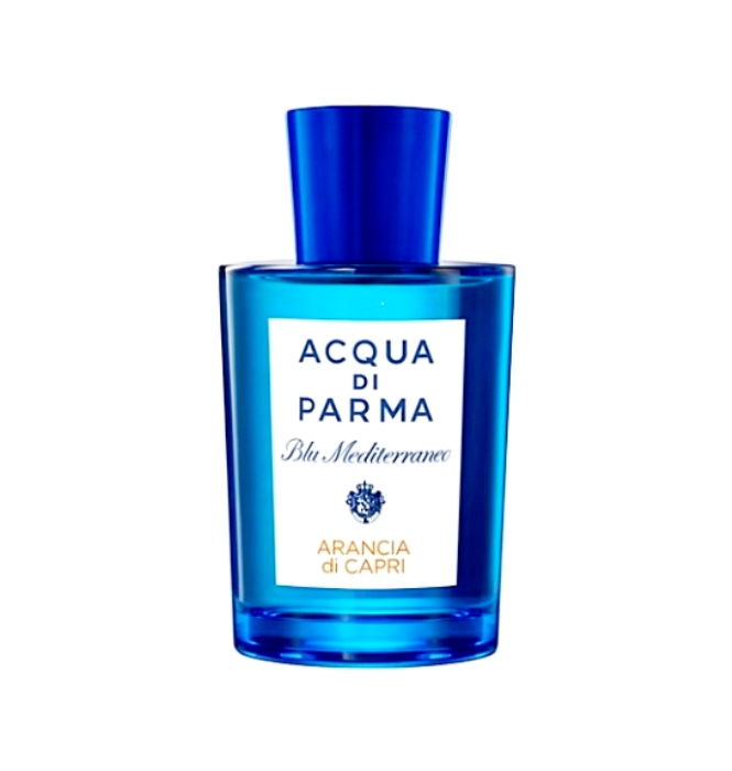 Acqua di Parma Blu Mediterraneo - Aroma Blu Mediterraneo - Arancia di Capri released home Acqua di Parma in 1999. These fresh romantic fragrance suitable for both men and women. Refreshing notes of orange and mandarin, bergamot and grapefruit brightness, resistance cardamom caramel peace and tranquility - you will want to be near the sea, in a small beautiful resort town, where life goes on size and quiet. Aroma Blu Mediterraneo - Arancia di Capri - it is the spirit of freedom created by Acqua di Parma in honor of the beautiful Mediterranean island of Capri. The original design of the bottle is reminiscent of the sea waves and calls on the trip. Top notes: orange, Sicilian mandarin, grapefruit, bergamot; Heart notes of Petit Grain, cardamom; Base notes of musk, caramel. Families fragrance: fresh, citrus, fern.