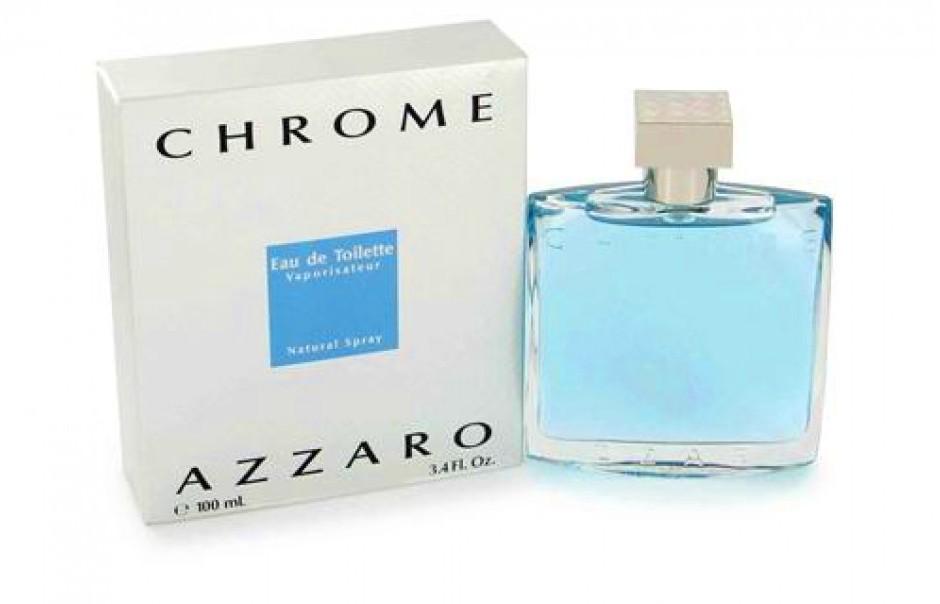 Chrome Azzaro-Акватический аромат, довольно холодный и свежий, сразу виден образ, идеального и мужественного человека. Парфюм, узнаваемый, подойдет для деловых встреч и важных переговоров, всегда напомнит о себе-Chrome Azzaro