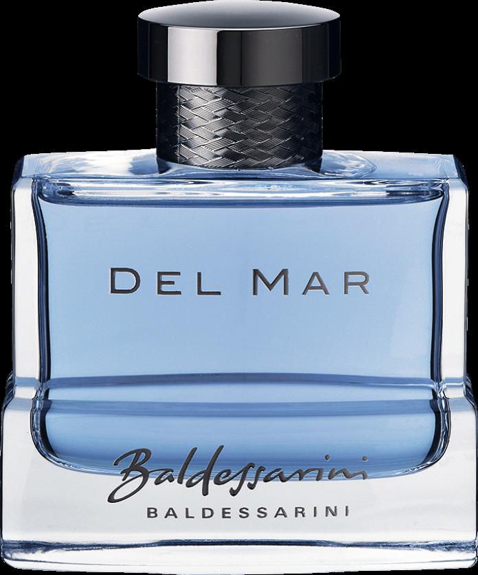 Baldessarini fragrances - Аромат как ощущение жизни - независимое, роскошное, морское.  BALDESSARINI DEL MAR сопровождает хорошо знающего свет мужчину в минуты со вкусом обставленного отдыха.  Когда лазурное небо и прозрачное голубое море встречаются друг с другом, мужчина BALDESSARINI вдыхает воздух свободы и приключений за штурвалом своей роскошной яхты, ведь подлинное его богатство заключается в силе момента.  BALDESSARINI DEL MAR гарантирует получение истинного наслаждения достигнутым.