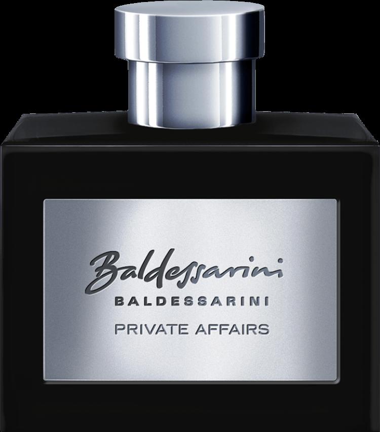 Baldessarini fragrances - Тайна мужского искусства обольщения  У каждого мужчины есть свои тайн. Одна из них - BALDESSARINI PRIVATE AFFAIRS - тайна совершенной привлекательности и абсолютного обольщения.  Сдержанный и независимый, без громкого шума – BALDESSARINI PRIVATE AFFAIRS подчёркивает мужественность и опыт мужчины в полном расцвете сил.  Он не ищет, он выбирает: правильное место, правильных людей и лучшую туалетную воду – BALDESSARINI PRIVATE AFFAIRS.