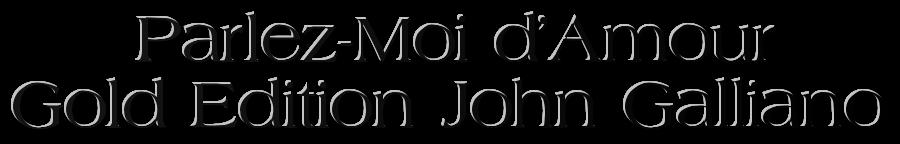 John Galliano парфюм Купить парфюм  John Galliano парфюм