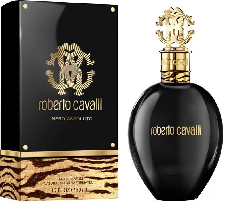 Roberto Cavalli  Nero Assoluto - Парфум, уверенных в себе красавицах , подтверждающие своей статус – энергии мощного, элегантного настроя в жизни. Аромат пьянит и радует своей не прихотливостю,  ощущается царская энергия, особая легкость и нежность. Завораживает и предназначется для осенье-зимнего времени. Импонирует женщинам, отчетливо подчеркивает, соблазнительность и неприступность.