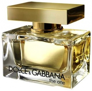 """DOLCE GABBANA the one - The Concept: Like the woman that wears it, the strength and uniqueness of Dolce&Gabbana The One fragrance comes from contrast. Used to adorn pulse points or misted into the air to fall in a scented aura, The One is a modern 'floriental' eau de parfum combining contemporary fruit ingredients with the perfumer's classic palette of white flowers. """"Every woman is The One!"""" Stefano Gabbana. The Design: Conceptualized by Domenico Dolce and Stefano Gabbana, The One, beaming in gold, was meant to be seen, celebrated and adored. The bottle pays homage to perfumery tradition while being a perfect example of  luxurious style."""